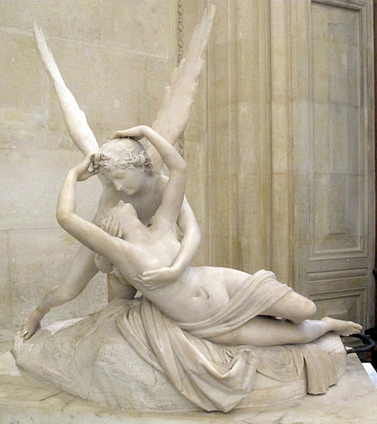 Antonio Canova, Psyché ranimée par le baiser de l'Amour (entre 1787 et 1793)