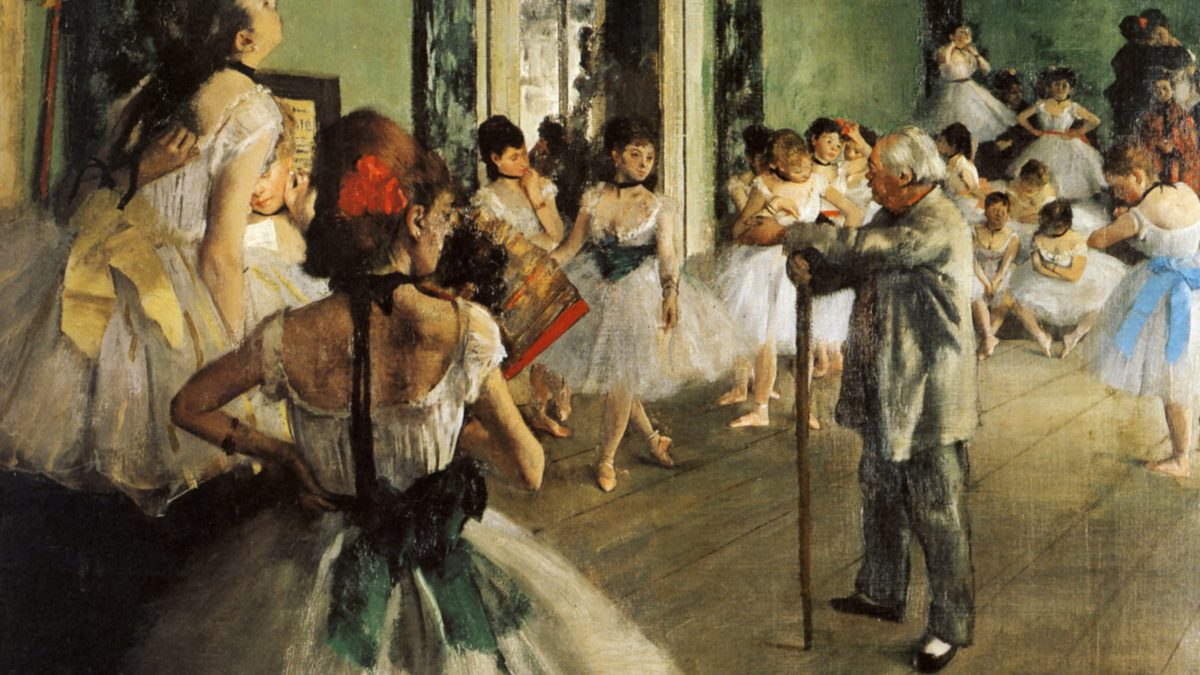 Art in a Minute: Edgar Degas
