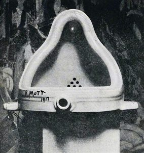 Fontaine de Marcel Duchamp