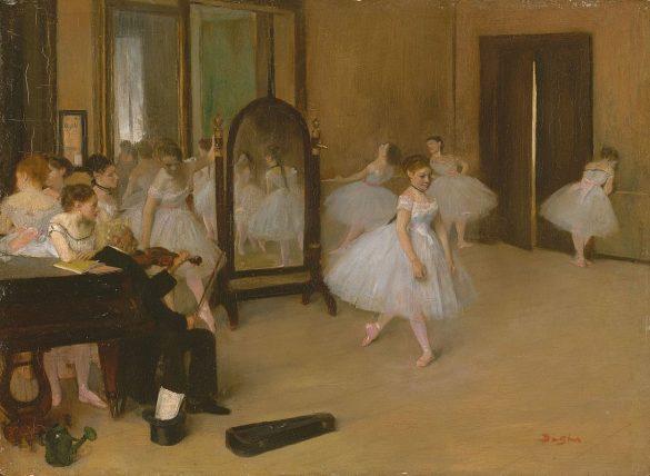 Edgar Degas, Classe de danse (1872)
