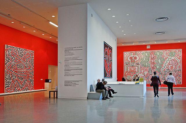Musée d'Art Moderne de Paris, Exposition Keith Haring (2013)