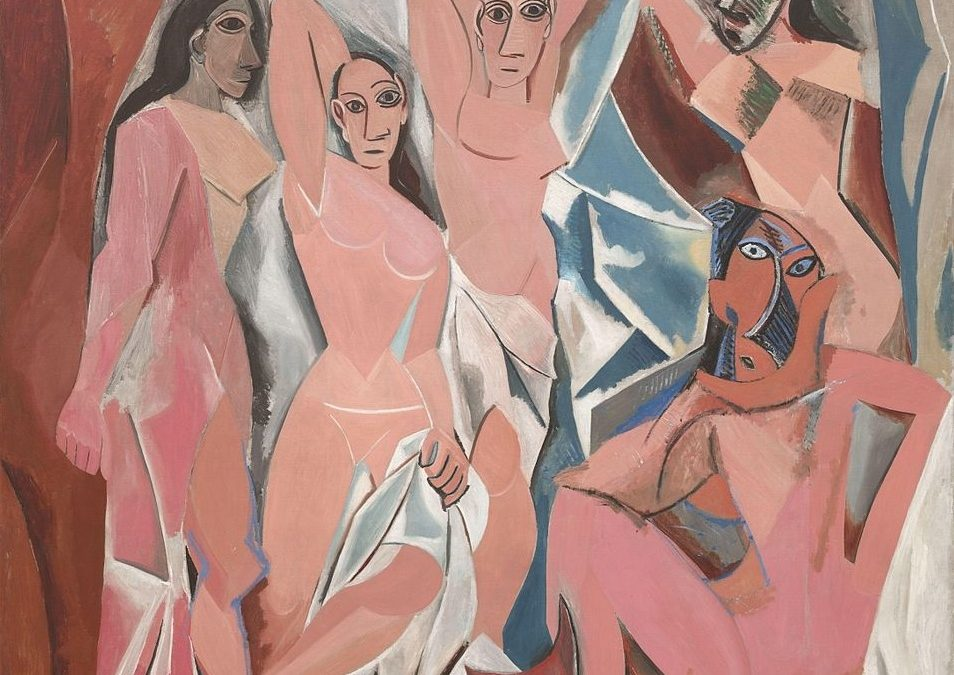 Canvassing the Masterpieces: Les Demoiselles d'Avignon by Picasso