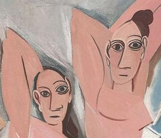 Picasso_demoiselles_davignon_visages