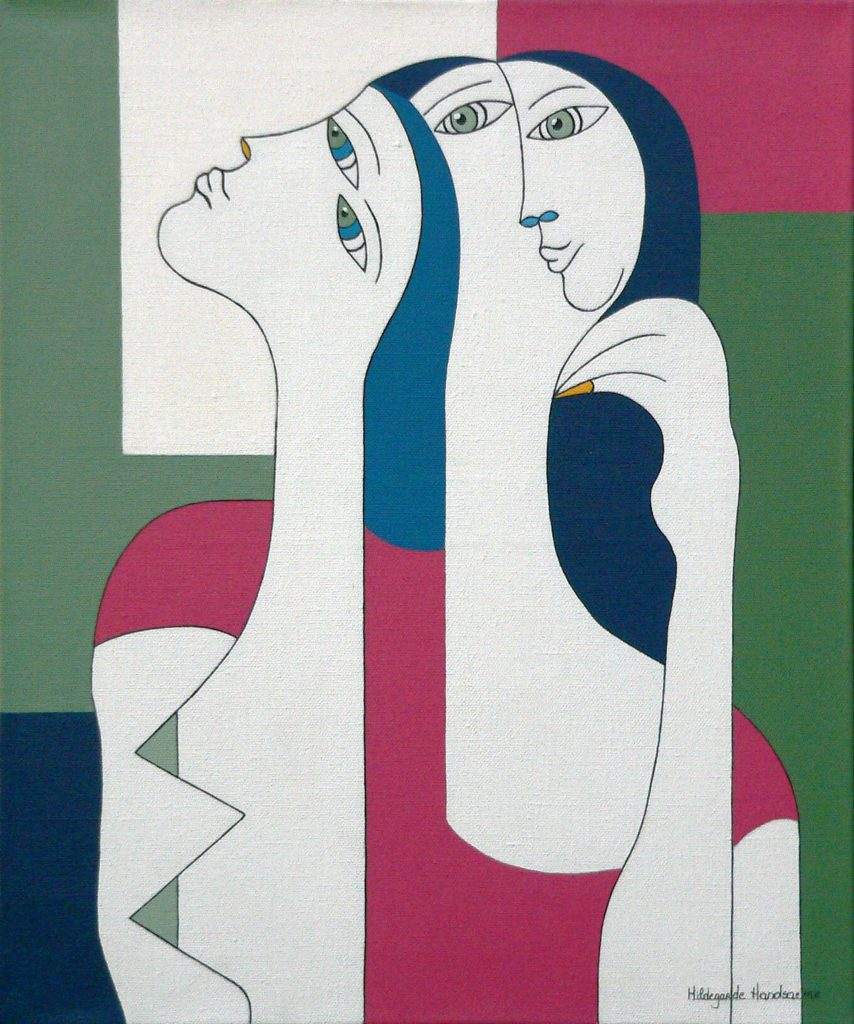 Hildegarde Handsaeme, Women with yellow nail