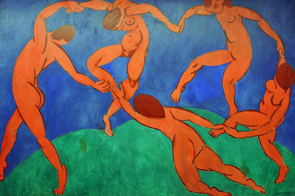 Dance – 1910 – by Henri Matisse / Flickr, Dennis Jarvis, CC BY-SA 2.0