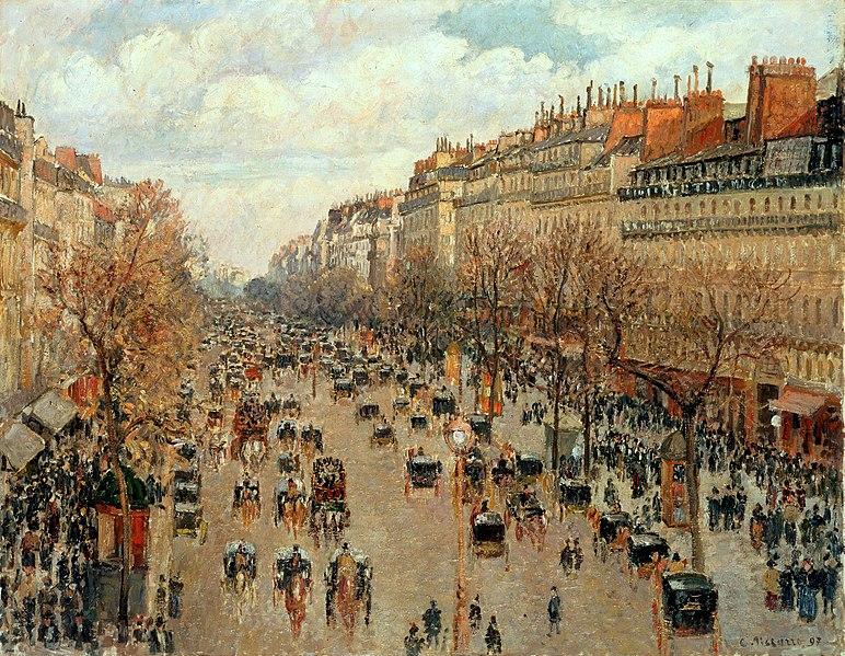 772px-Camille_Pissarro_-_Boulevard_Montmartre_-_Eremitage
