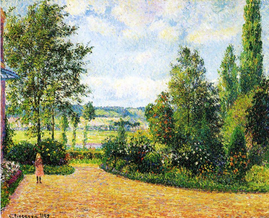 Pissarro,_Jardin_Mirbeau_aux_Damps