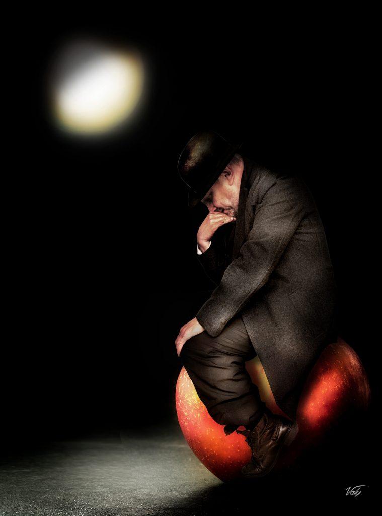 Le penseur de Magritte