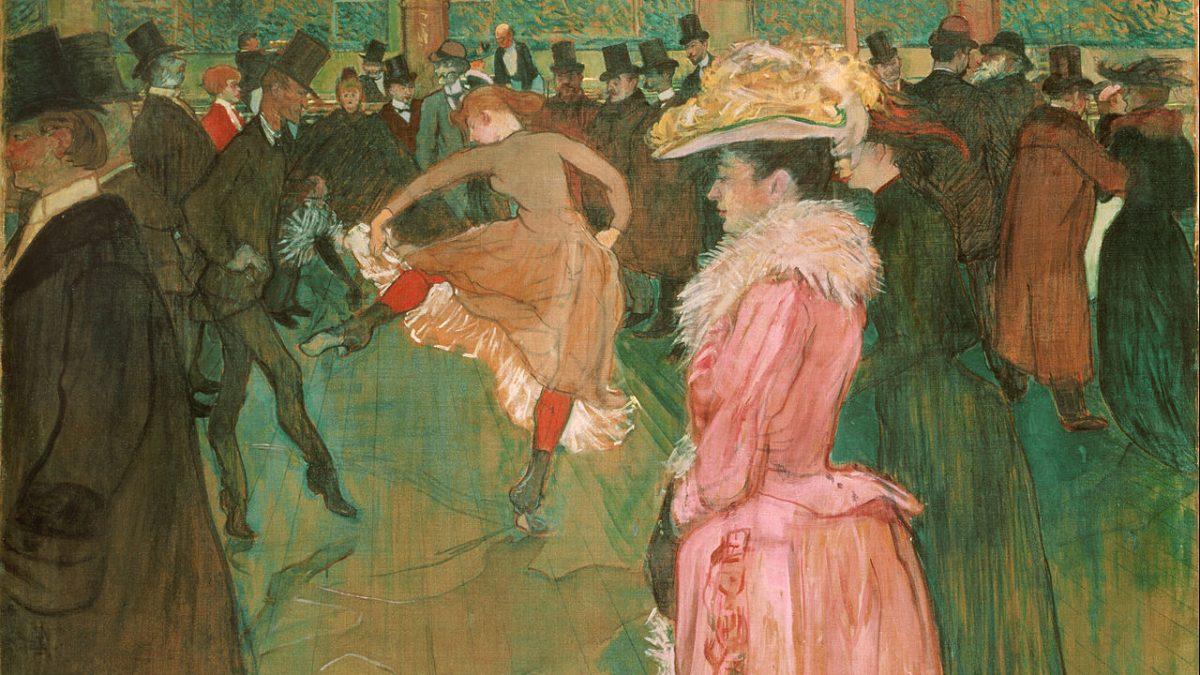 L'œuvre à la loupe : La Danse au Moulin Rouge de Toulouse-Lautrec