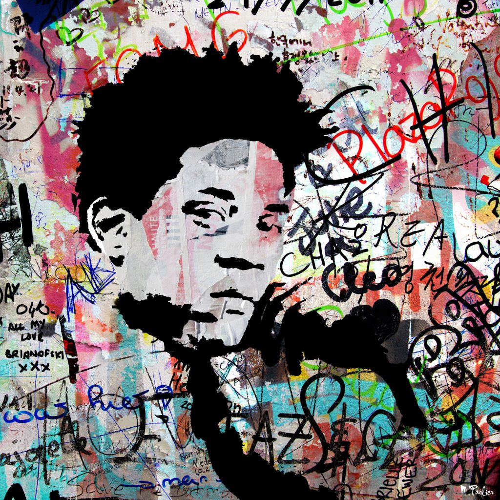 Morgan Paslier, Jean-Michel Basquiat, 200€