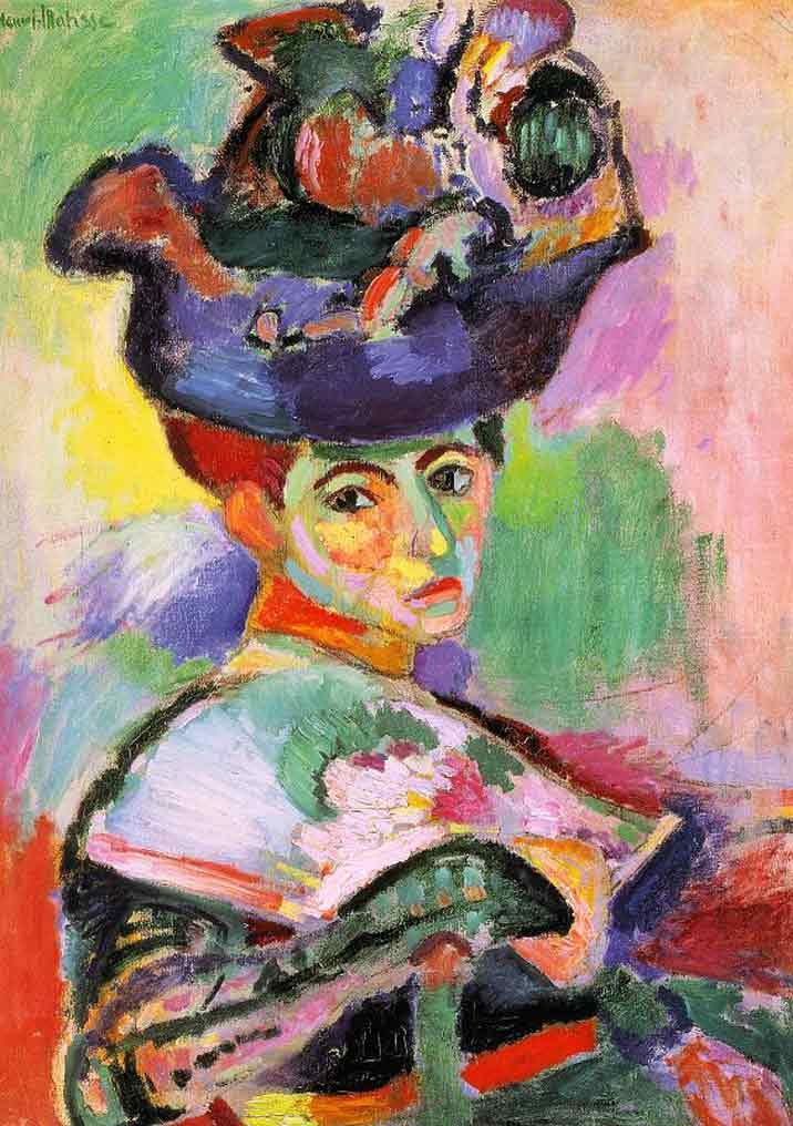 Henri Matisse, La femme au chapeau, 1905, MoMA San Francisco