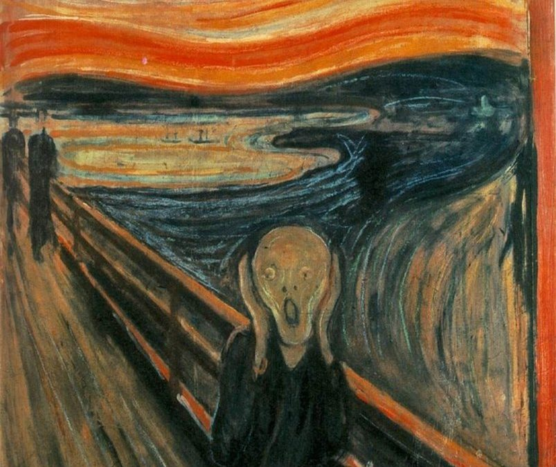 Canvassing the Masterpieces: The Scream by Edvard Munch
