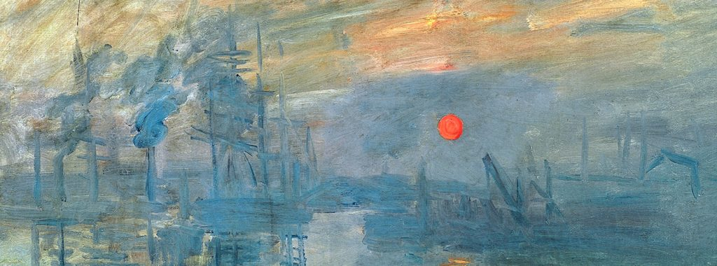 Impression: sunrise claude money 1872