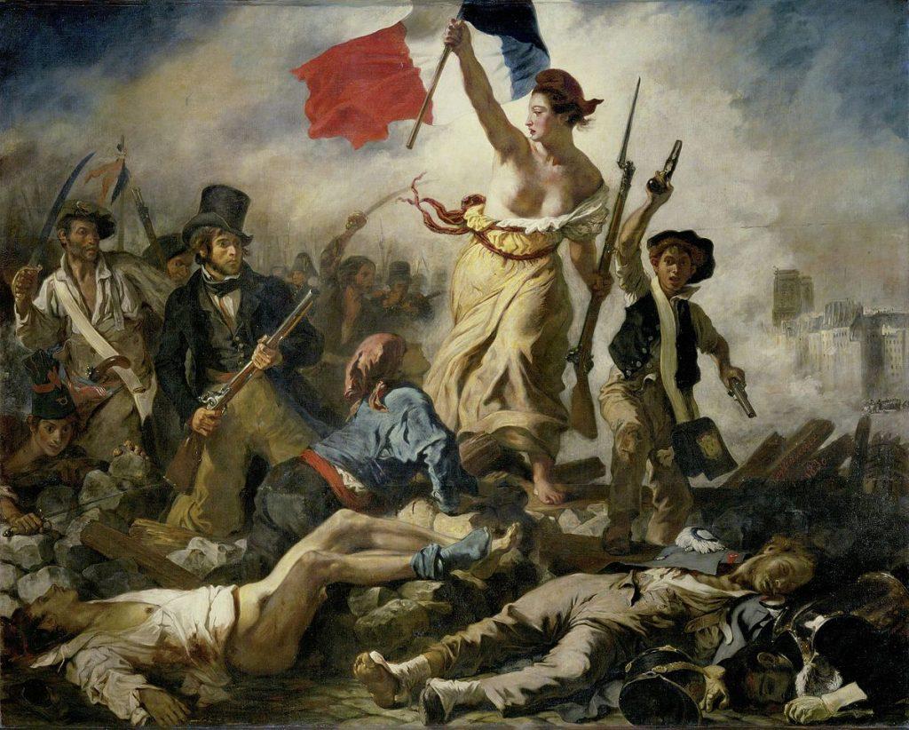 Eugène Delacroix, Le 28 Juillet, La Liberté guidant le peuple, 1830
