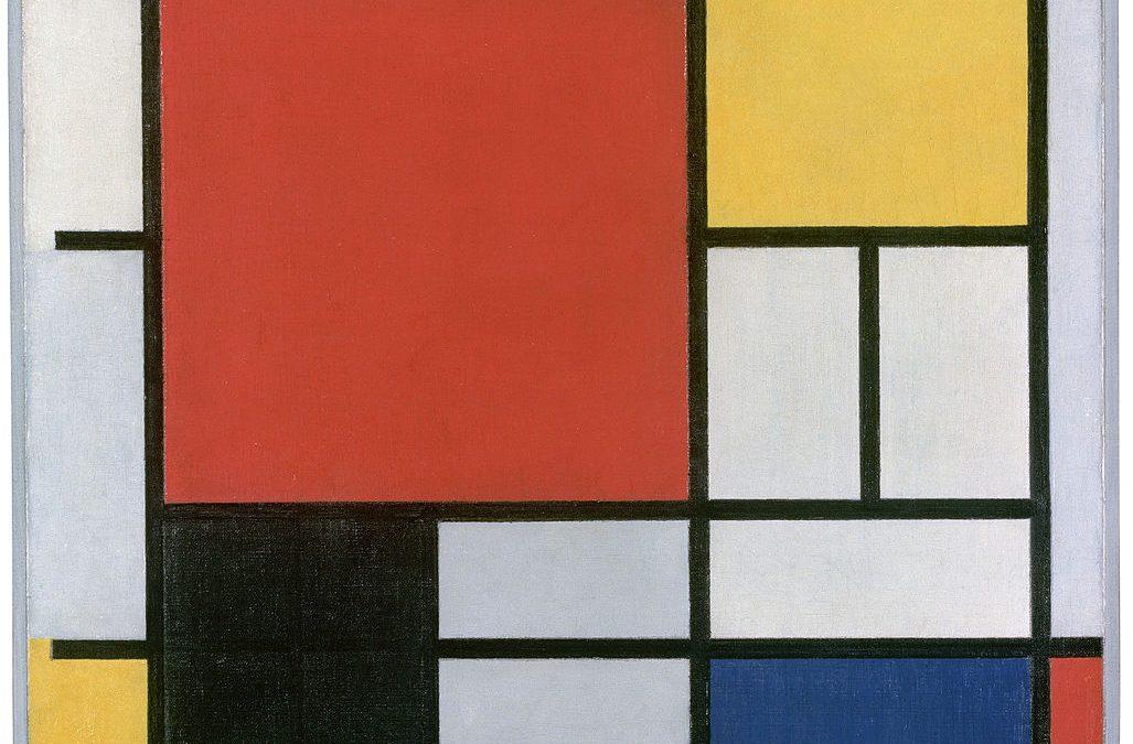 La Minute Arty : Piet Mondrian