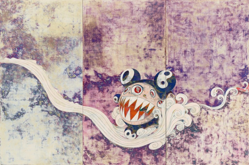 Takashi Murakami 727, 1996, don de David Teiger, MoMA New-York