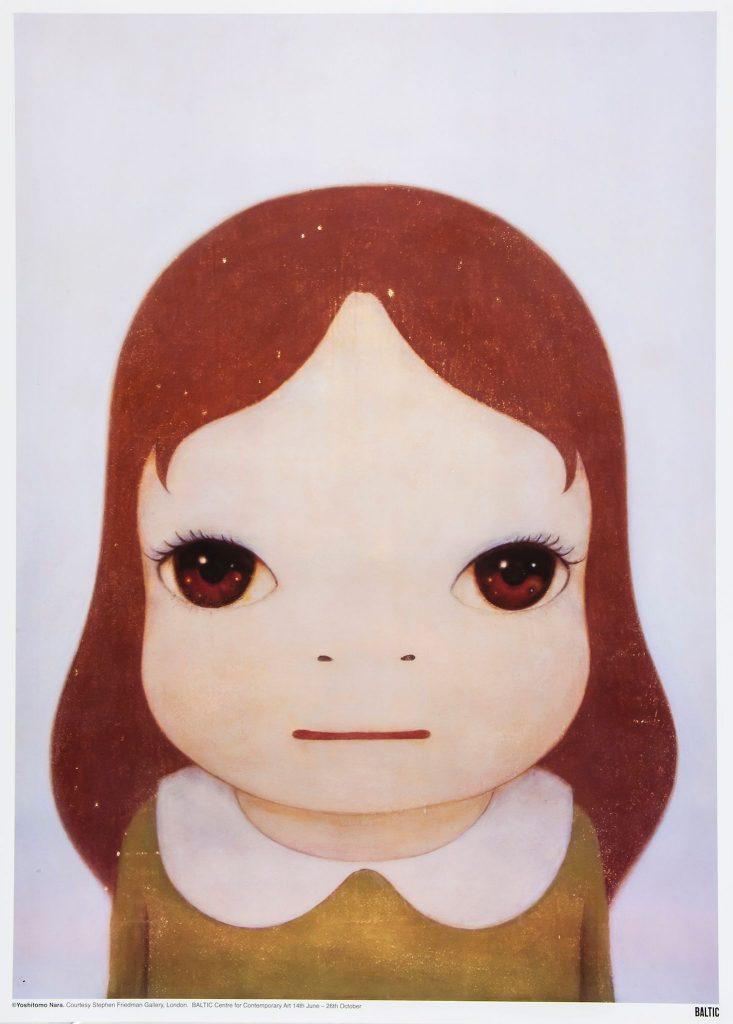 Yoshitomo Nara, Cosmic girl (eyes open), 2008, (C) Yoshitomo Nara