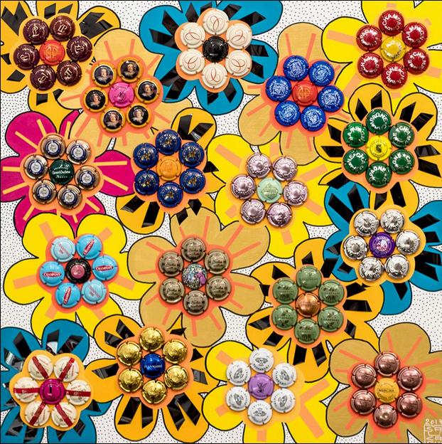 Malvina Sauvage, Metal flores, 200€