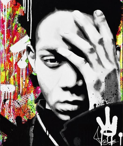 Vincent Bardou, Jean-Michel Basquiat, 600€