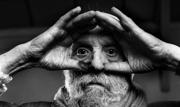 Le sculpteur César Baldaccini (1921-1998)• Crédits - Ulf Andersen, aurimages - AFP