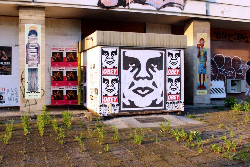 Shepard Fairey Obey Street Art activitst