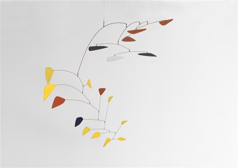 Mobile sur deux plans, Alexander Calder, Paris, Centre Pompidou - Musée national d'art moderne - Centre de création industrielle, Centre Pompidou, MNAM-CCI, Dist. RMN-Grand Palais / Philippe Migeat