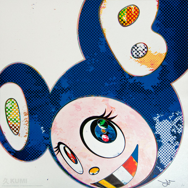Takashi Murakami, And then x6, 2013, lithographie en 300 exemplaires, © Kumi