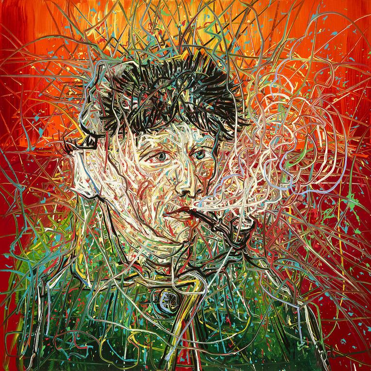 Zen Fanzhi, Van Gogh III, 2017, Photo Musée Van Gogh, (C) Zeng Fanzhi