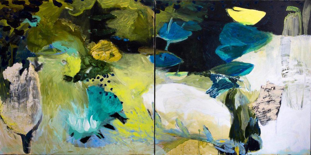 Aline Wiest, Symphonie (diptyque), 1500 €