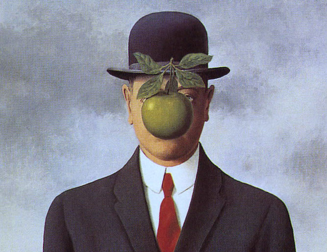 L'œuvre à la loupe : Le fils de l'homme de Magritte