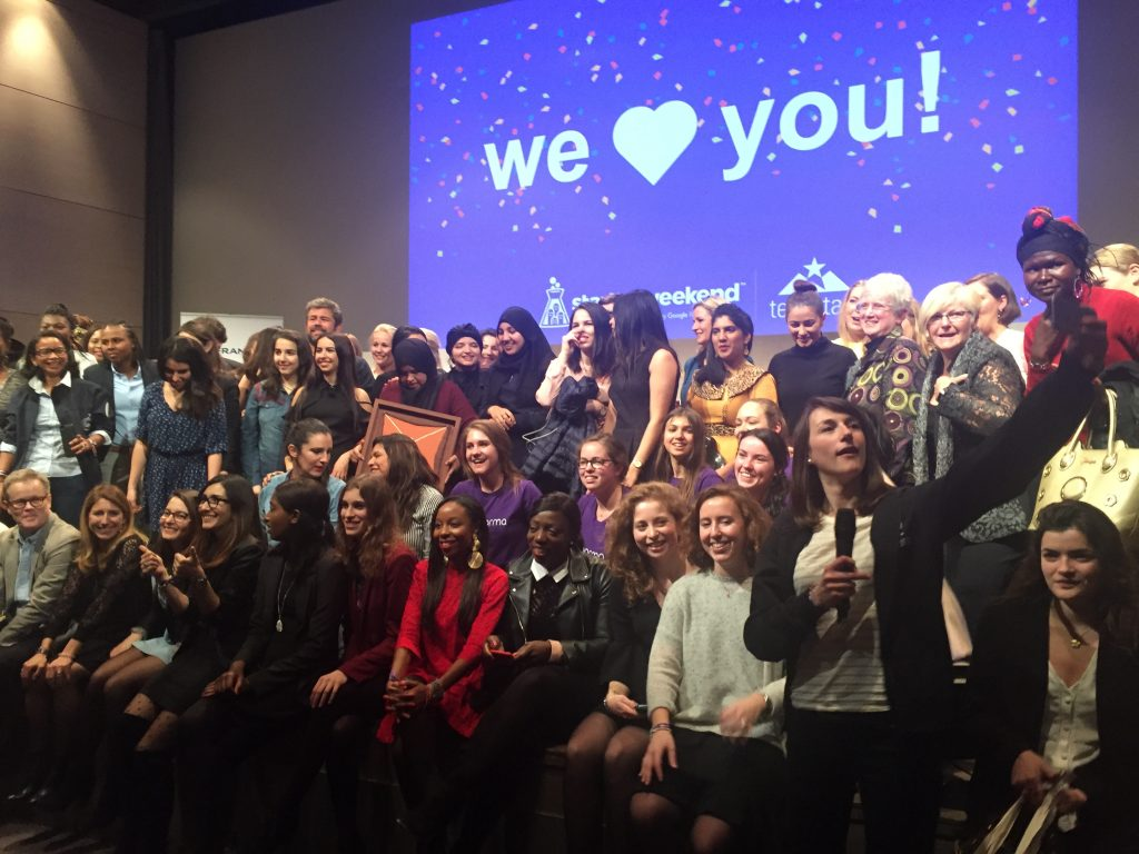 Grande Finale - Global Startup Weekend Women 2018 à Paris