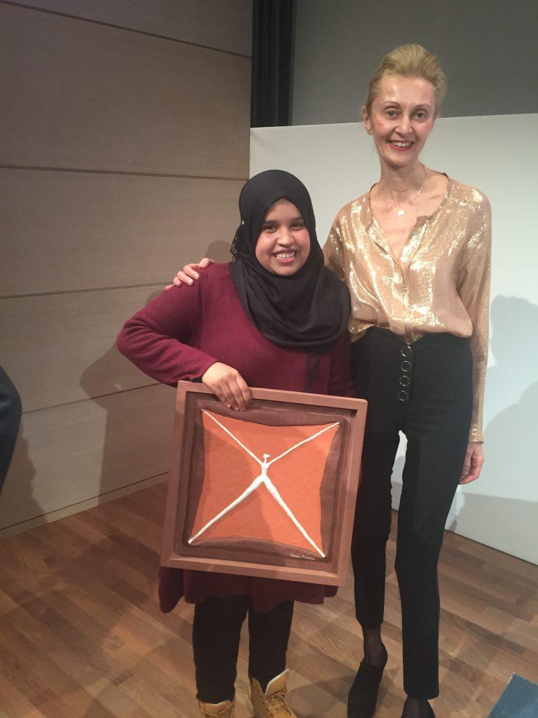 Global Startup Weekend Women 2018 - Donia Maaoui et la startup gagnante Safe Sahara (Algérie)