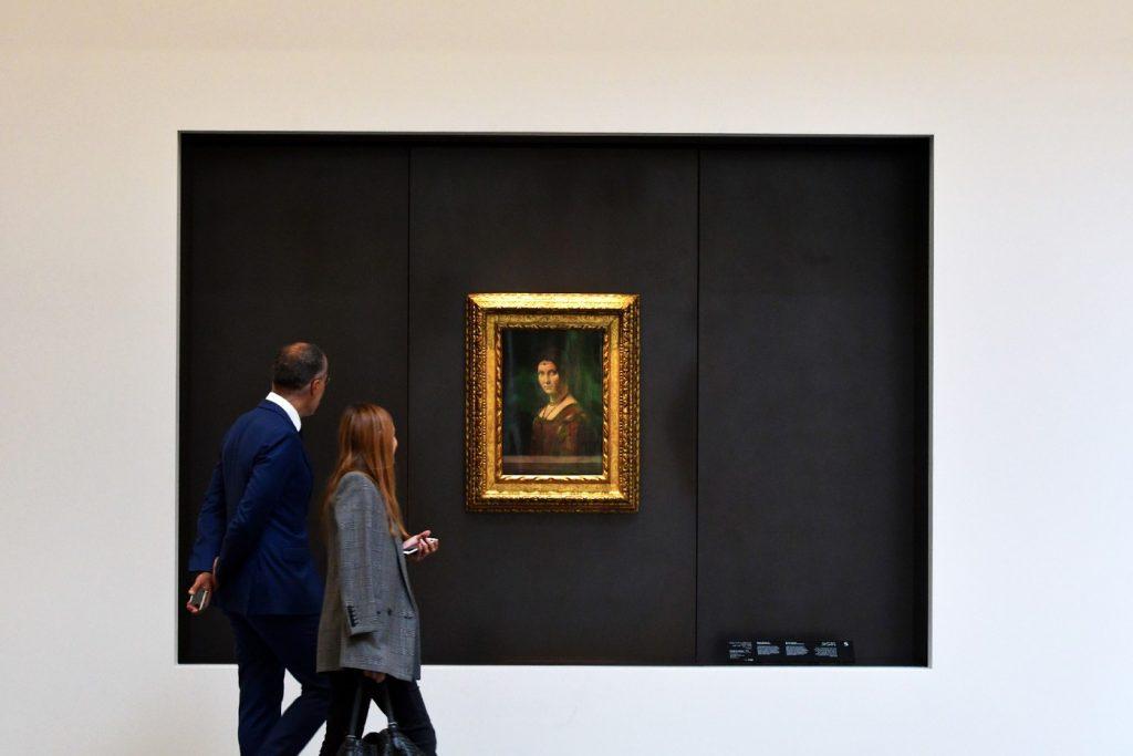 """""""La belle Ferronière"""" de De Vinci exposée au Louvre Abu Dhabi"""