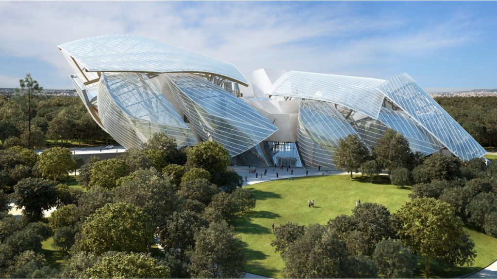 Fondation Louis Vuitton, Paris 16e
