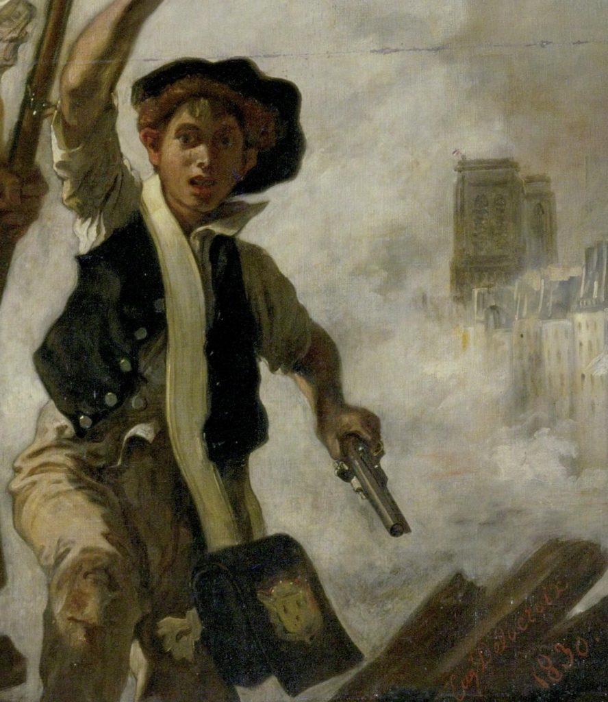 L œuvre A La Loupe La Liberte Guidant Le Peuple De Delacroix Le Blog D Art Contemporain De Kazoart