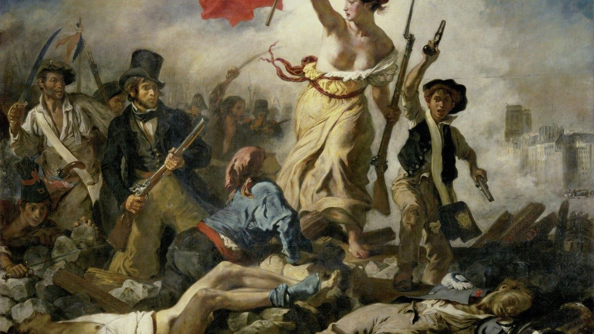 Canvassing the Masterpieces: Liberty Leading the People by Delacroix