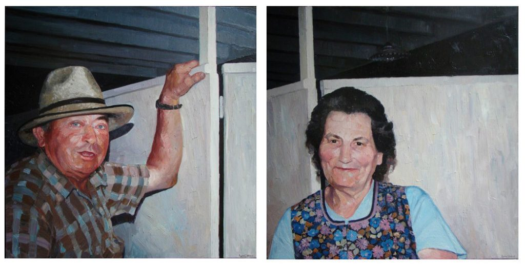 Les duf, Armel Julien - Peinture à l'Huile - En vente sur KAZoART