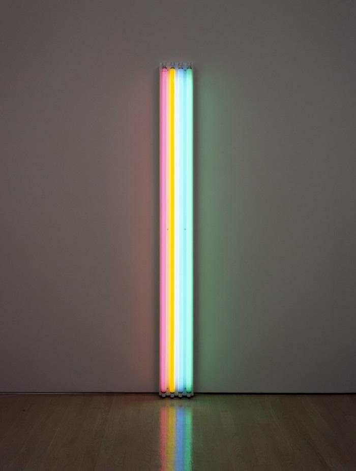Dan Flavin, Untitled (to Henri Matisse), 1964, Guggenheim