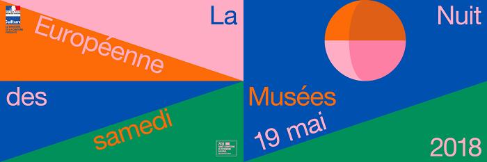 Affiche officielle de la Nuit Européenne des Musées
