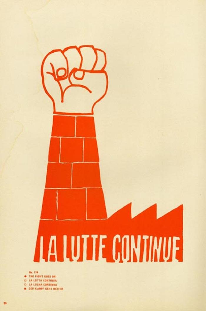 Affiche de l'Atelier Populaire, 1968