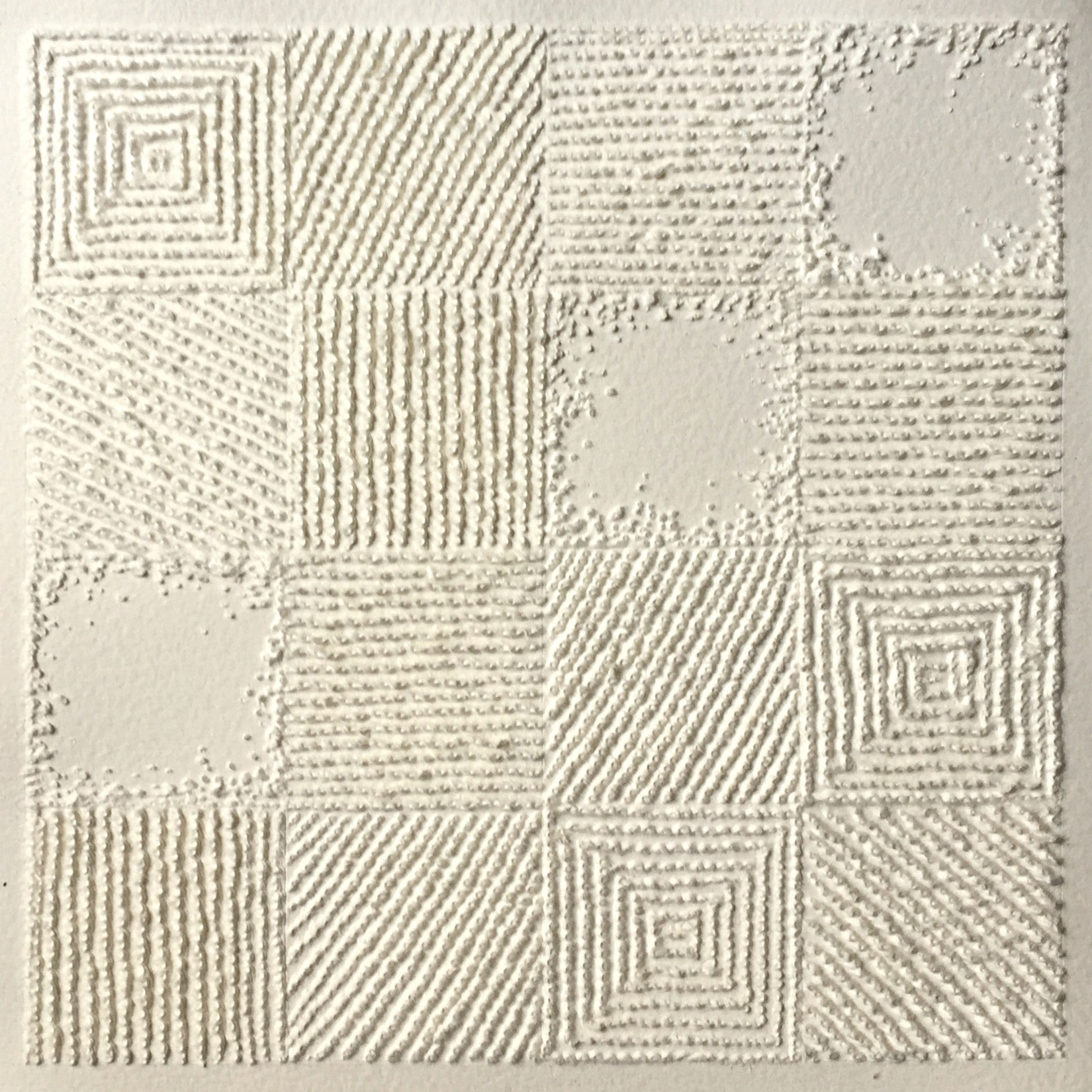 Antonin Anzil, 16 squares
