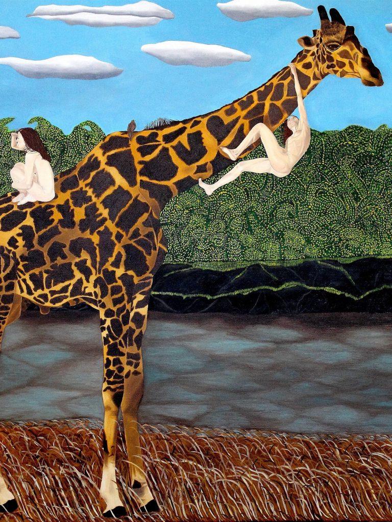Victoria Stagni, La girafe