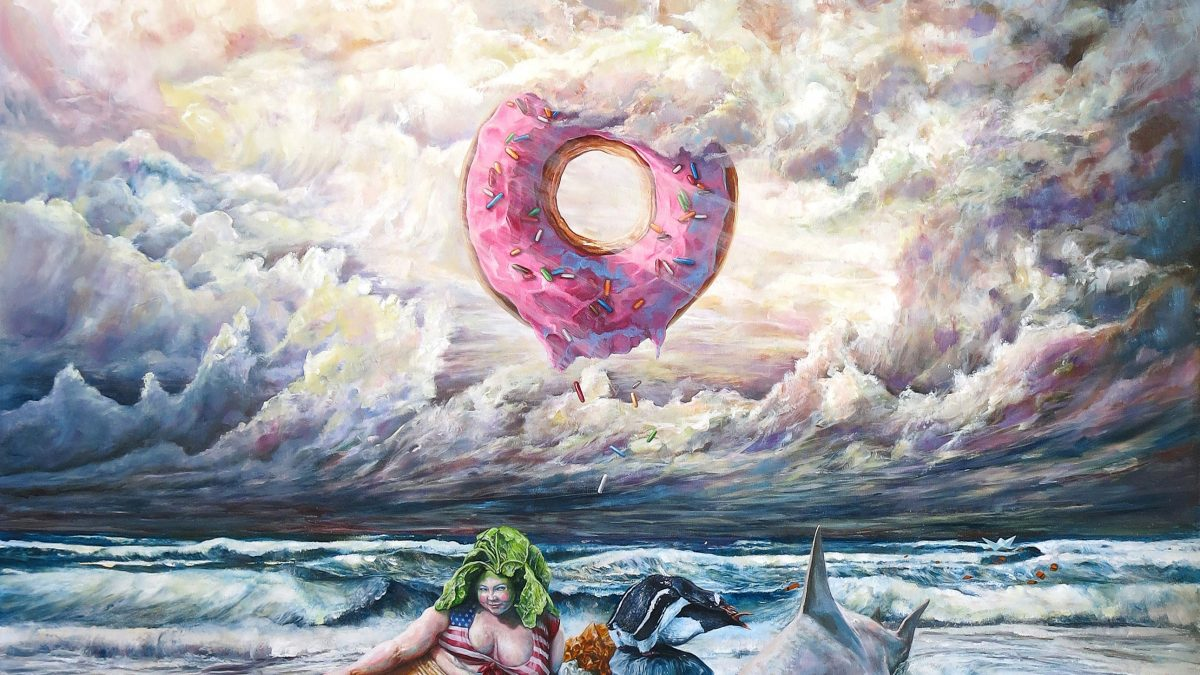 """Magic Mermaid"" by Jo Ouisse: A Painting with a Story"