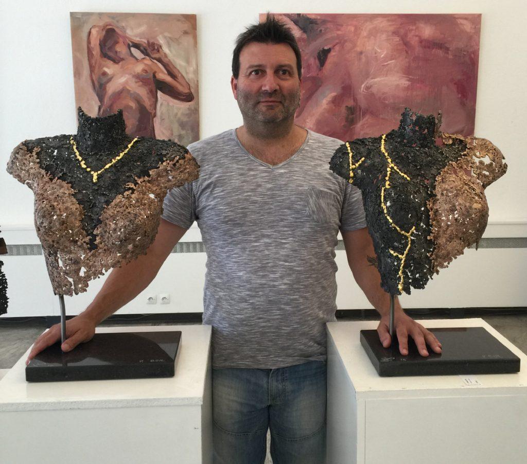 Philippe Buil - Sculptures Bronze Acier Or