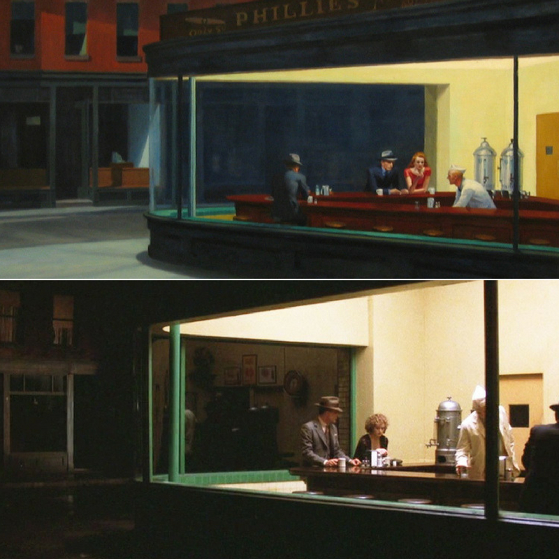 Art & cinéma : Hopper/Ross