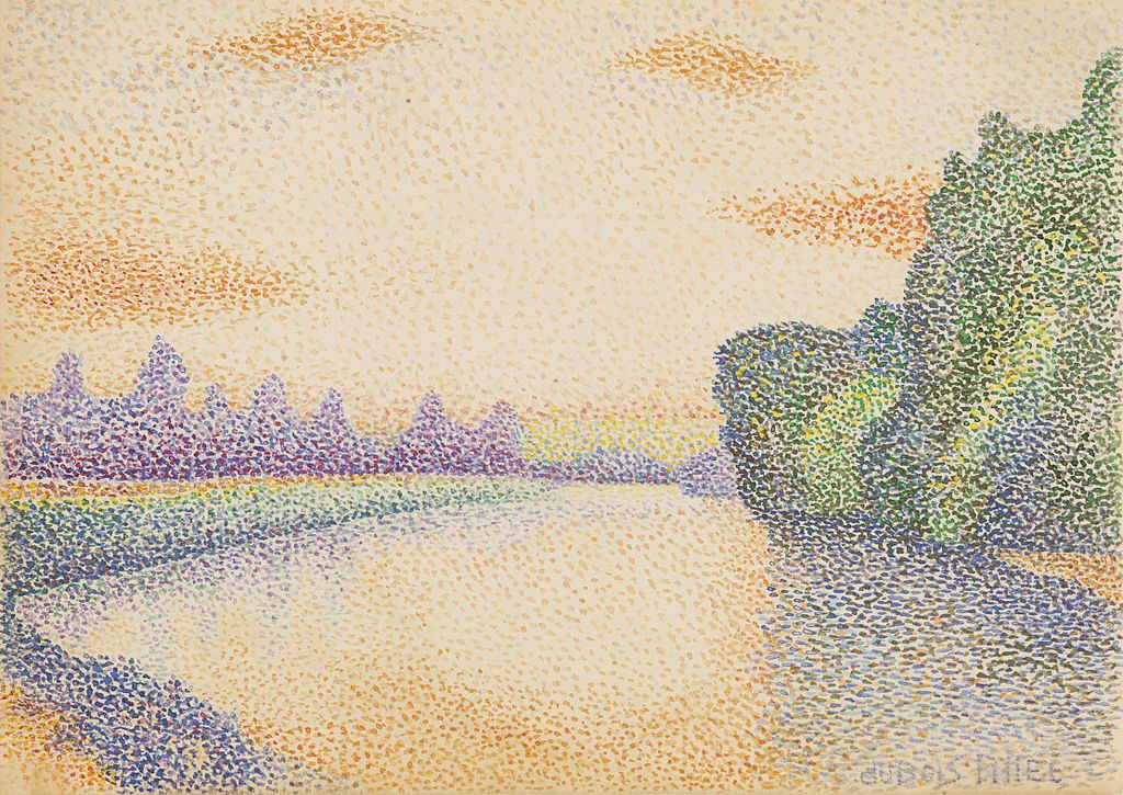 Albert_Dubois-Pillet_The_Banks_on_the_Marne_at_Dawn