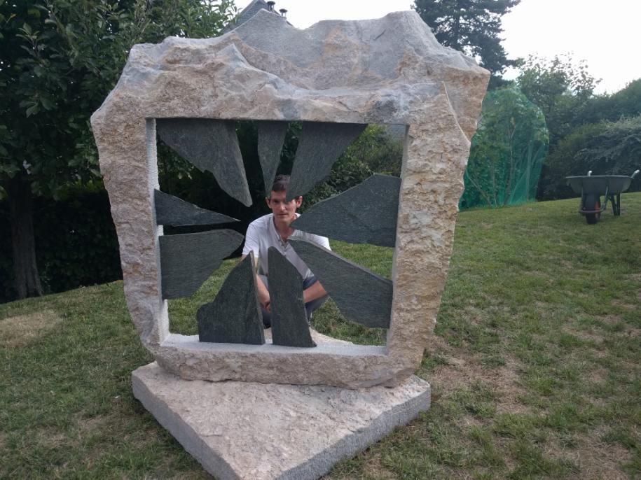 Installation sculpture OUVERTURE août 2018 (4)