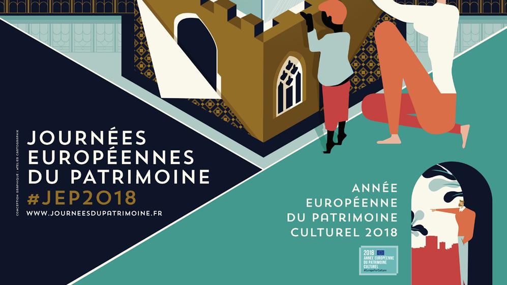Journées européennes du patrimoine 2018 : nos coups de cœur
