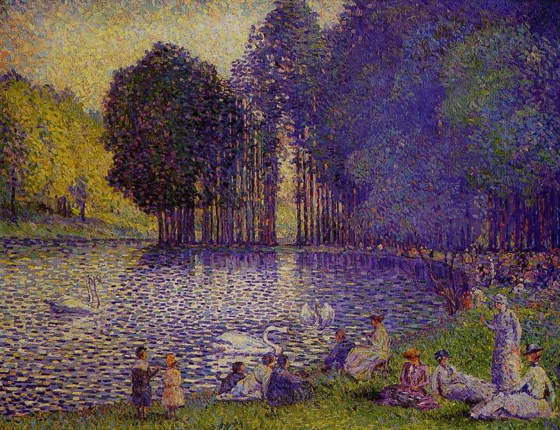 henri-edmond-cross-le-lac-au-bois-de-boulogne