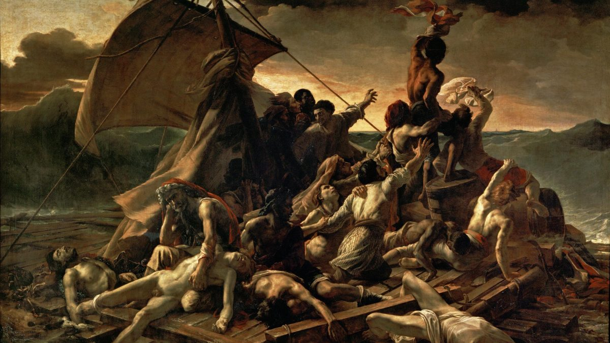 Canvassing the Masterpieces: The Raft of the Medusa by Géricault